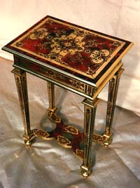 Louis X1V Boulle, (buhl) writing table, restored